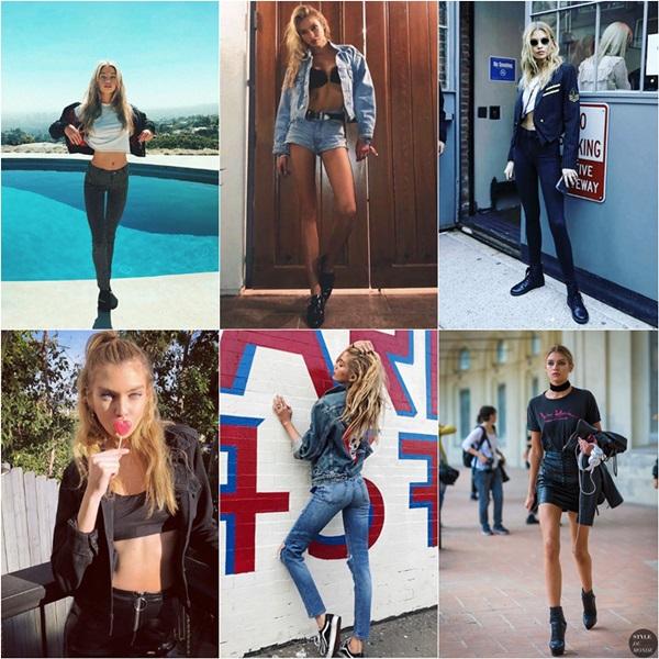 Phong cách thời trang đời thường của các thiên thần Victorias Secret - 6