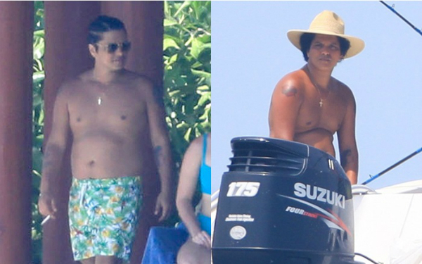 Bruno Mars gây choáng với thân hình phát phì khó tin - 1