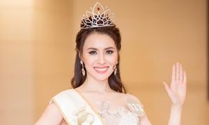 Thư Dung bị thu hồi danh hiệu Hoa hậu Sắc đẹp Hoàn mỹ Toàn cầu