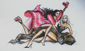 Ngập tràn ảnh, clip chế vụ 'ẩu đả thế kỷ' của Cardi B và Nicki Minaj