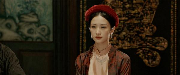Jun Vũ xinh đẹp trong phim.