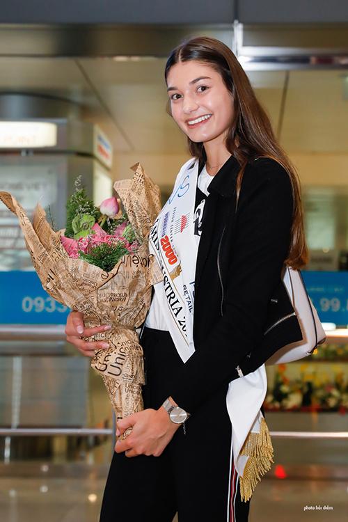 Á hậu 1 cuộc thi Hoa hậu Áo 2018.