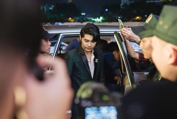 Tối 14/9, nam ca sĩ Noo Phước Thịnh trở thành khách mời đặc biệt trong buổi lễ khai trương