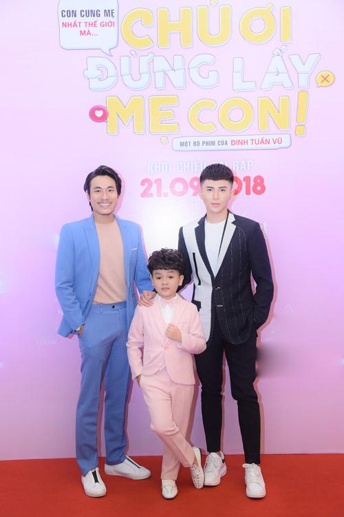 Kiều Minh Tuấn, Will và bé Hữu Khang.