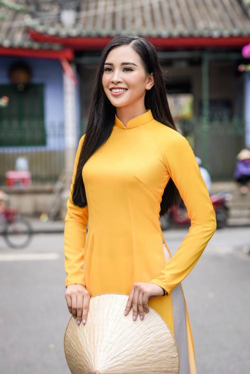Hình ảnh mới nhất của Hoa hậu Trần Tiểu Vy.