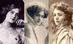 100 năm trước đã có những mỹ nhân đẹp thế này
