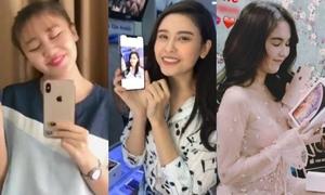 Những sao Việt đầu tiên chạm vào iPhone Xs, Xs Max 'nóng bỏng tay'