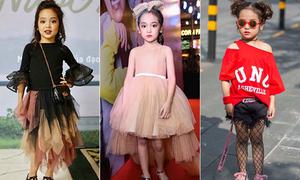 'Con gái Kiều Minh Tuấn' ngoài đời có style siêu sành điệu