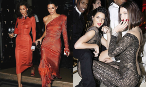 Kendall - Bella: Cặp chân dài mỗi lần xuất hiện là gây náo loạn