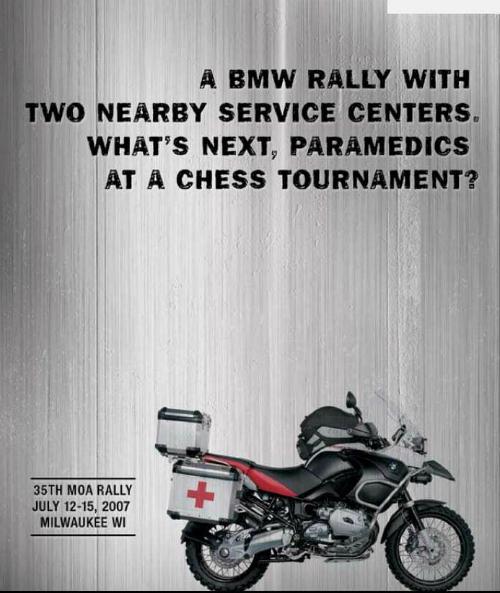 Đầu tiên, thương hiệu xe máy BMW phát hành một chiến dịch quảng cáo cho giải đua MOA thứ 35 năm 2008, giải đấu được gọi là Cuộc chiến cờ vua.