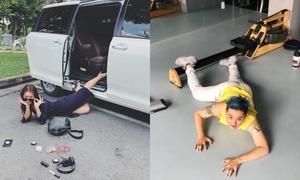 Sao Việt đua nhau chụp ảnh 'ngã sấp mặt', ai tạo nên bức ảnh bá đạo nhất?