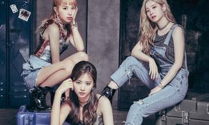 Chán vẻ dễ thương, fan phát mê khi Twice thử concept cool ngầu