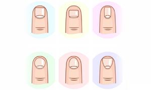Bói vui: Nhìn dáng móng tay đọc vị con người