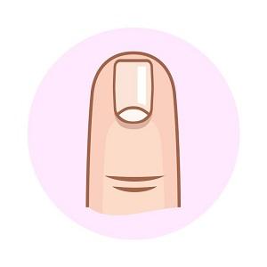 Bói vui: Nhìn dáng móng tay đọc vị con người - 2