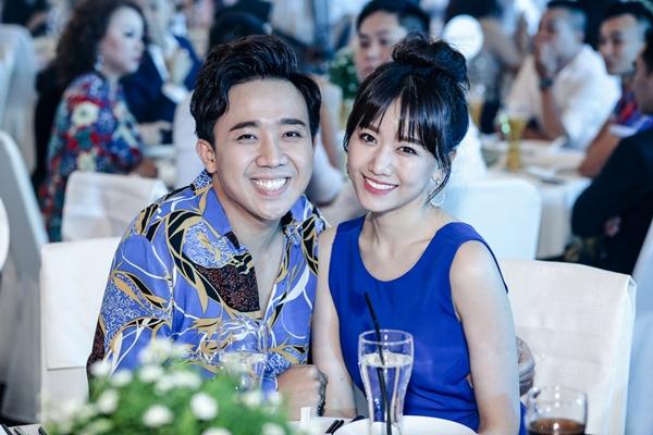 Vợ chồng Hari Won - Trấn Thành