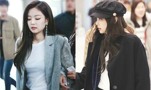 Thời trang sân bay sang chảnh khiến Jennie luôn được ví 'con gái nhà tài phiệt'