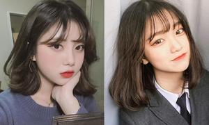 Kiểu tóc hot nhất mùa thu được lòng con gái khắp châu Á