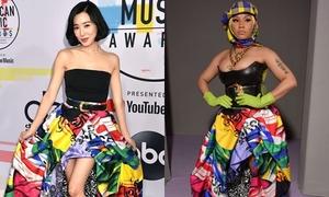 Tiffany đụng váy hàng hiệu với Nicki Minaj: Ai mặc đẹp hơn?