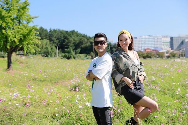 Ưng Hoàng Phúc - Kim Cương liên tục khóa môi ở Hàn Quốc - 2