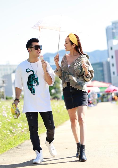 Ưng Hoàng Phúc - Kim Cương khóa môi ngọt ở Hàn Quốc