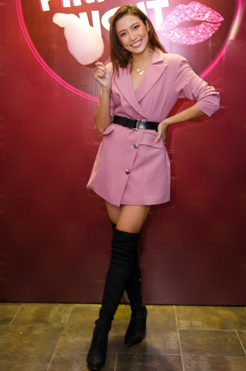 Người mẫu - diễn viên Phan Ngân. Cô vừa có cuộc lấn sân điện ảnh qua vai chính trong phim Mùa viết tình ca.