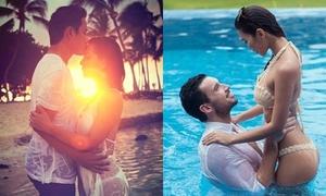 Ảnh cưới bikini được khen ngợi của sao Việt