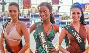 Mặt mộc thí sinh Miss Earth: Người xinh đẹp ngút ngàn, người phờ phạc, thiếu sức sống