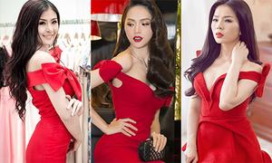 Váy Hương Giang diện là mốt hot nhất Vbiz từ... 5 năm trước