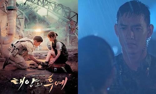 Cảnh cột dây giày huyền thoại trong 'Hậu duệ mặt trời' Việt khác biệt hoàn toàn