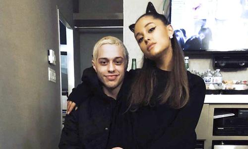 Pete bị đồn gửi ảnh nóng của Ariana cho Mac Miller