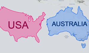 Quốc gia nào có diện tích lớn hơn?