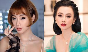Đổi kiểu tóc lia lịa, khó ai soán ngôi 'Nữ hoàng thảm đỏ' của Angela Phương Trinh