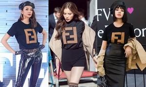 3 sao cùng mặc chiếc áo phông 18 triệu: Ai 'ngầu' hơn?