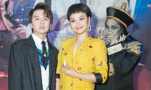 Miu Lê 'lầy lội' hết nấc khi xem phim Halloween của Duy Khánh