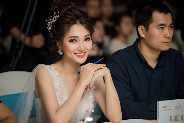 Sau khi đạt được một số thành tích trong Hoa hậu Hoàn vũ Việt Nam 2017, Ngọc Nữ từng tham dự Hoa hậu Việt Nam 2018 nhưng sau đó xin rút lui giữa chừng vì không sắp xếp được công việc riêng, dù thời điểm đó cô đang là gương mặt được đánh giá cao.
