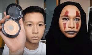 Hot boy Đỗ Hoàng Dương hướng dẫn make up thành Vô Diện
