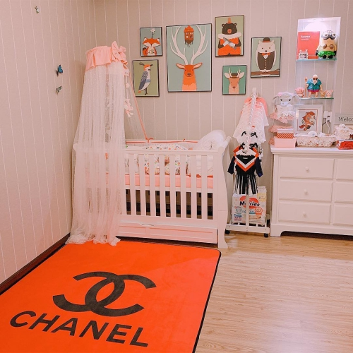 Căn phòng vợ chồng Diệp Lâm Anh chuẩn bị cho con gái.