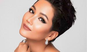 H'Hen Niê được khen nổi bật giữa dàn thí sinh 'đẹp đều' của Miss Universe 2018
