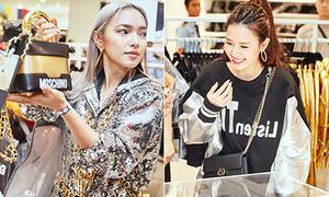 Dàn mỹ nhân Việt 'bất chấp hình tượng', chen nhau sắm đồ