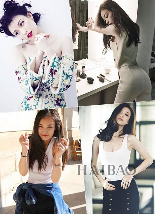 Nữ diễn viên Thiên thịnh trường ca luôn xuất hiện trên tạp chí với những hình ảnh đầy cuốn hút.