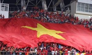Báo Indonesia ca ngợi tinh thần màu cờ sắc áo của CĐV Việt Nam