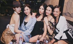 Hội bạn thân toàn hot girl 'hiếm thấy' ở Vbiz
