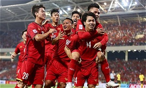 Tuyển bóng đá Việt Nam đang có chuỗi bất bại đi vào lịch sử