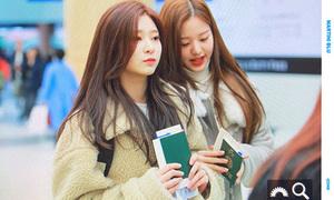 Lisa mặc đồ đẹp nhất Black Pink, Seo Hyun thanh lịch ở sân bay