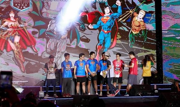 Sự kiện Justice League Night Run 2018 do tập đoàn Yeah1 Network hợp tác với Warner Bros tổ chức.