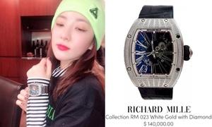 Dara đeo đồng hồ 'khủng', netizen thi nhau hỏi 'tiền đâu mà mua'