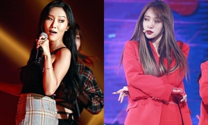 EXID - Mamamoo: Hai girlgroup được khen hát live 'như nuốt đĩa'