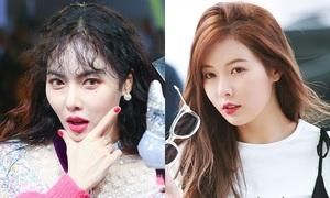 Tưởng con gái yêu vào sẽ xinh đẹp hơn nhưng Hyun Ah thì ngược lại