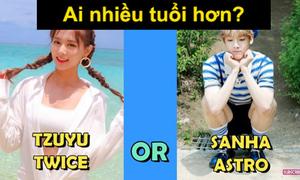 Fan Kpop thử tài đoán idol lớn tuổi hơn? (2)