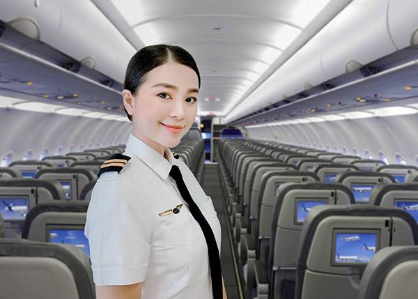 Diệu Thúy vừa trở thành nữ phi công đầu tiên của một hãng hàng không mới mở ở Việt Nam.